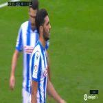 Real Sociedad 0-1 Espanyol - David Lopez 10'