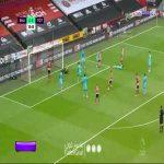 Sheffield United 1-0 Tottenham - Sander Berge 31'