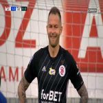 Arkadiusz Malarz (ŁKS Łódź) PK save vs. Wisła Kraków (64', Polish Ekstraklasa)