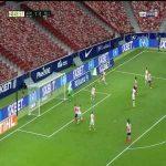 Atletico Madrid 2-0 Mallorca: Alvaro Morata goal 45+4'