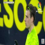 Andriy Lunin penalty save vs Cadiz