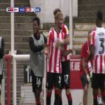 Brentford 2-0 Wigan: Benrahma 57'