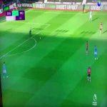 Ederson pass to Bernardo Silva