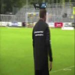 Hobro IK 0 - [1] Randers FC: Kopplin 10' [great goal]