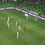 Krasnodar [2]-2 Zenit: Daniil Utkin wondergoal 50'