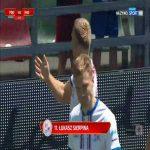 Podbeskidzie Bielsko-Biała 1-0 Radomiak Radom - Łukasz Sierpina 9' (Polish I liga)