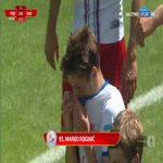Podbeskidzie Bielsko-Biała 2-0 Radomiak Radom - Marko Roginić 45+1' (Polish I liga)