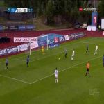 Stabæk 0-3 Rosenborg - Kristoffer Zachariassen 73'