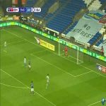Cardiff City 1-0 Blackburn Rovers: Vaulks '14 (nice goal)