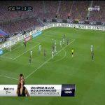 Diego Lopez (Espanyol) save vs. Barcelona 68'