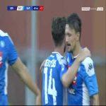 Genoa 0-1 Napoli - Dries Mertens Goal