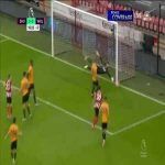 Sheffield United 1-0 Wolves - John Egan 90+3'