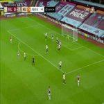 Aston Villa 0-2 Manchester United: Mason Greenwood goal 45+4'