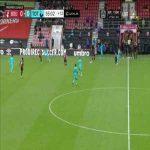 Hugo Lloris (Tottenham Hotspur) save vs. Bournemouth 90+6'