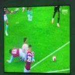 Manchester United penalty call vs Aston Villa