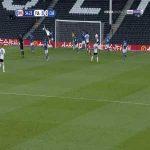 Fulham 1-0 Cardiff - Aleksandar Mitrovic penalty 35'
