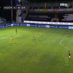 Paços Ferreira 0-3 Braga - Paulinho 38'