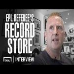 The EPL referee who opened up a record store [John Moss]