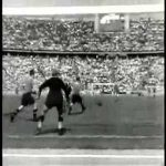 "Highlights from when Rapid Wien beat FC Schalke 4-3 in the final of the ""German football championship"", 22nd June 1941. Same day Germany commenced its invasion of the USSR"