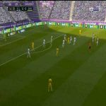 Real Valladolid 0-1 Barcelona: Arturo Vidal goal