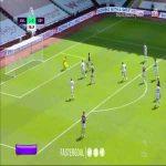 Aston Villa 2-0 Crystal Palace - Trezeguet 59'
