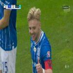 Lech Poznań [3]-1 Lechia Gdańsk - Kamil Jóźwiak 45' (Polish Ekstraklasa)