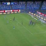 Napoli 1-1 Milan: Di Lorenzo goal 34'