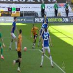 Wolves 2-0 Everton - Pickford goal line save