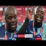 Akinfenwa post-match interview following Wycombe Wanderer's promotion to the Championship