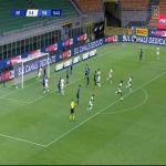 Inter 0 - [1] Torino - Belotti 17' (Handanovic mistake)