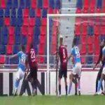 Bologna 0 - [1] Napoli - Manolas 7'