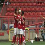 Bristol City 1-0 Stoke City: Benkovich 45+2'