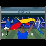 Tifo Football: How Rangers' Firebrand Alfredo Morelos is Changing Lives