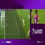 Jordan Ayew goal ruled out for offsides (Crystal Palace vs. Manchester United)