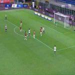Milan 2-[1] Bologna - Takehiro Tomiyasu 44'