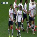 Preston 1-0 Birmingham City: Bauer 43'