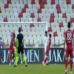 Sivasspor 1-0 Genclerbirligi - Arouna Kone penalty 29'