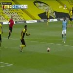 Penalty shout for Manchester City vs. Watford