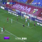 Genoa 0-1 Inter - Lukaku 34'