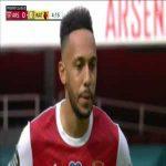 Arsenal 1-0 Watford: Aubameyang PK 4'