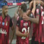 Everton 1-[3] Bournemouth: Stanislas 80'