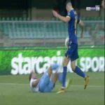 Verona 1-[1] Lazio - Ciro Immobile penalty 45'+6'
