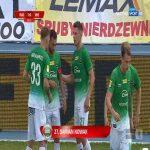 Radomiak Radom 1-0 Miedź Legnica - Damian Nowak FK 39' (Polish I liga)
