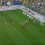 Udinese 1-0 Lecce - Samir 36'