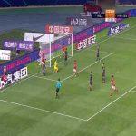 Guangzhou R&F 0-(1) Guangzhou Evergrande - Paulinho goal