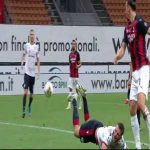 Milan 1 - 0 Cagliari - Ibrahimovic missed penalty 44'