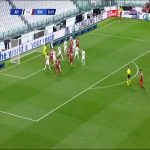Villar del Fraile (AS Roma) disallowed goal vs Juventus