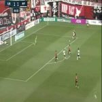 Consadole Sapporo 1-(2) Vissel Kobe - Douglas goal (with amazing pass from Iniesta & first touch from Nishi)