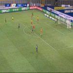 Lecce 2-[3] Parma - Andreas Cornelius 52'