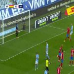Malmö FF 1-[1] Helsingborgs IF - Anthony Van den Hurk penalty 36'